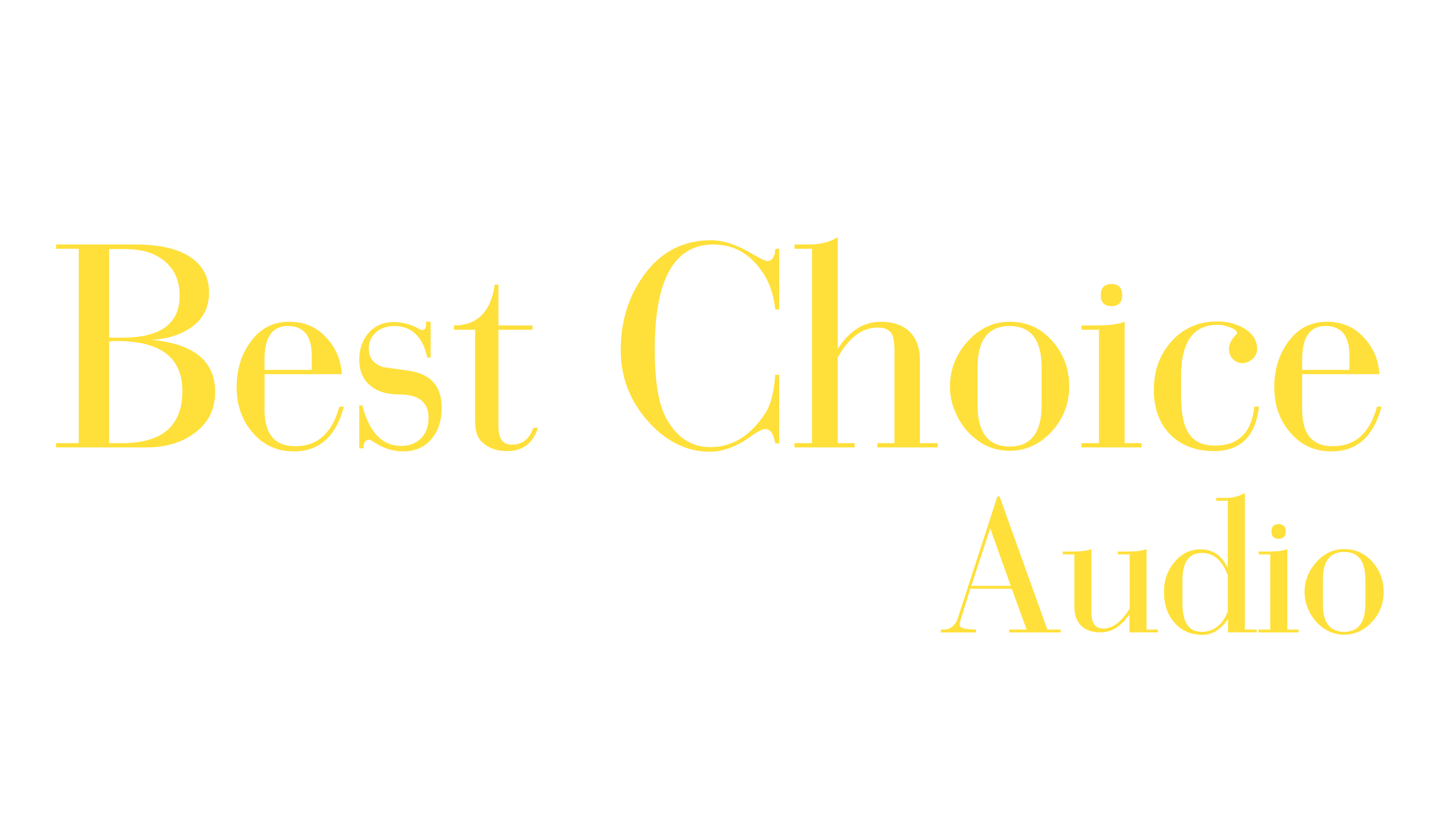 Best Choice  Audio
